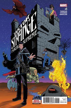 DOCTOR STRANGE AND THE SORCERERS SUPREME (2016) #5