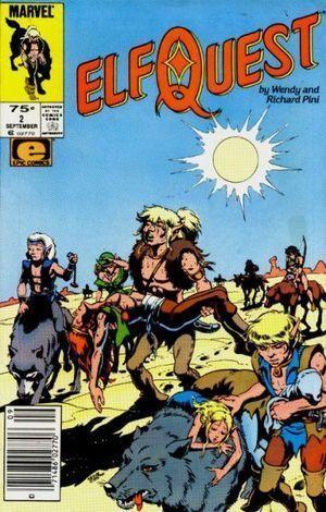 ELFQUEST (1985 MARVEL) #2