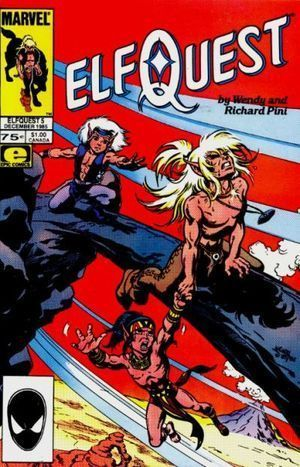 ELFQUEST (1985 MARVEL) #5