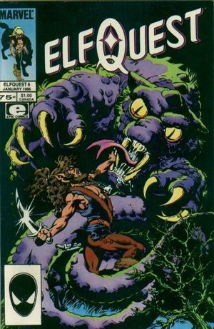 ELFQUEST (1985 MARVEL) #6