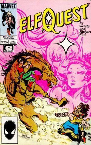 ELFQUEST (1985 MARVEL) #8
