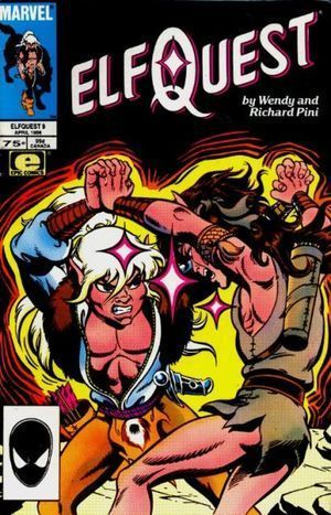 ELFQUEST (1985 MARVEL) #9