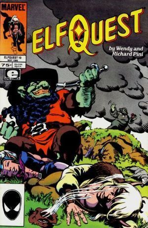 ELFQUEST (1985 MARVEL) #10