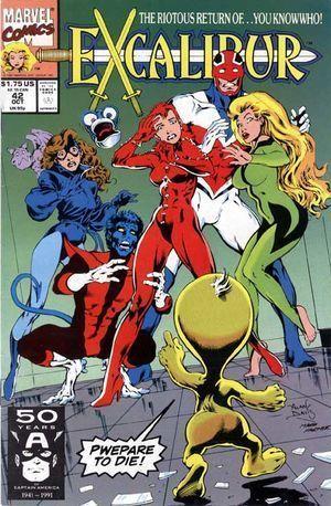 EXCALIBUR (1988 1ST SERIES) #42