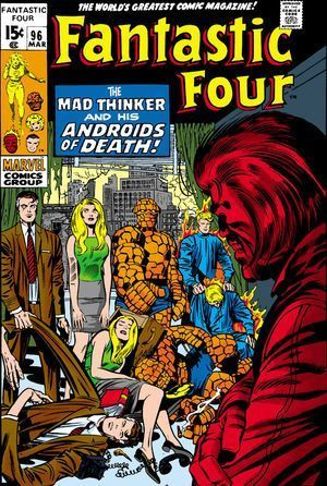 FANTASTIC FOUR (1961 1ST SERIES) #96