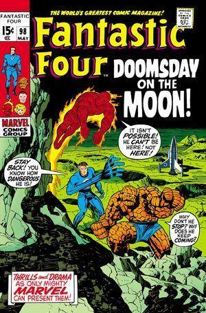 FANTASTIC FOUR (1961 1ST SERIES) #98