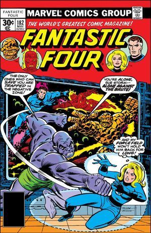 FANTASTIC FOUR (1961 1ST SERIES) #182