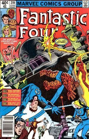 FANTASTIC FOUR (1961 1ST SERIES) #219