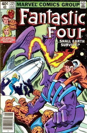 FANTASTIC FOUR (1961 1ST SERIES) #221