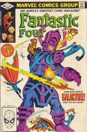 FANTASTIC FOUR (1961 1ST SERIES) #243
