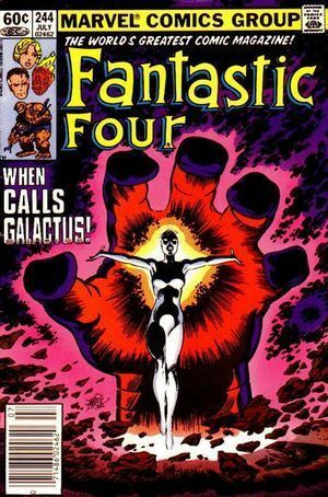 FANTASTIC FOUR (1961 1ST SERIES) #244
