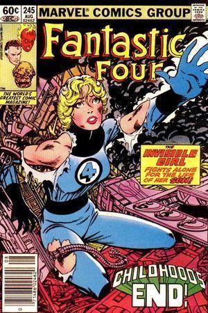 FANTASTIC FOUR (1961 1ST SERIES) #245