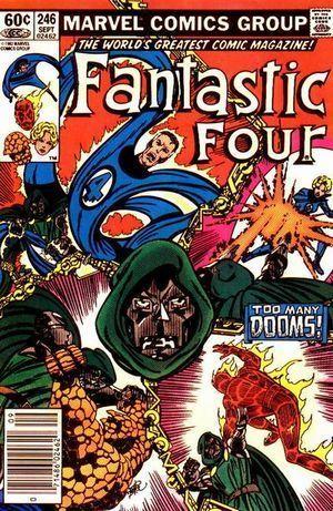 FANTASTIC FOUR (1961 1ST SERIES) #246