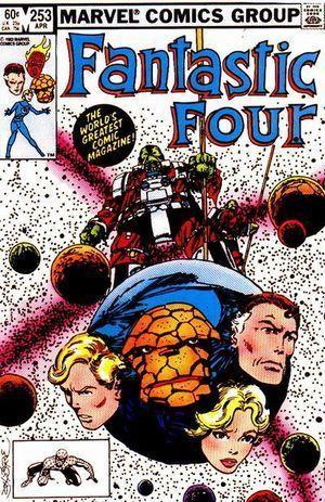 FANTASTIC FOUR (1961 1ST SERIES) #253