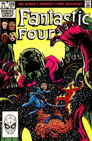 FANTASTIC FOUR (1961 1ST SERIES) #256