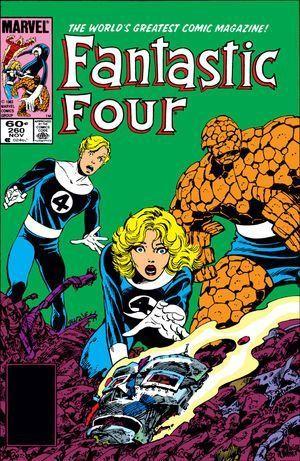 FANTASTIC FOUR (1961 1ST SERIES) #260