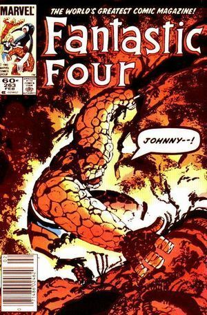 FANTASTIC FOUR (1961 1ST SERIES) #263