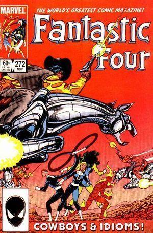 FANTASTIC FOUR (1961 1ST SERIES) #272