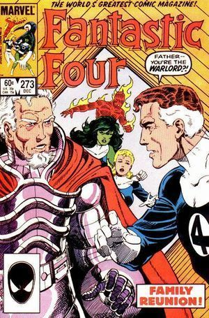 FANTASTIC FOUR (1961 1ST SERIES) #273