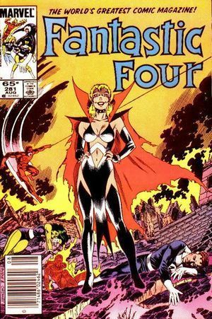 FANTASTIC FOUR (1961 1ST SERIES) #281