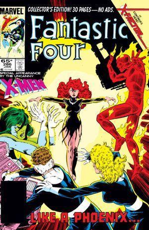 FANTASTIC FOUR (1961 1ST SERIES) #286