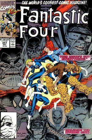 FANTASTIC FOUR (1961 1ST SERIES) #347