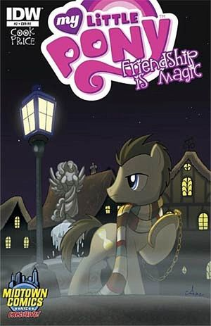 MY LITTLE PONY FRIENDSHIP IS MAGIC (2012 IDW) #2MID