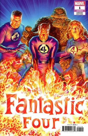 FANTASTIC FOUR (2018 6TH SERIES) #1E