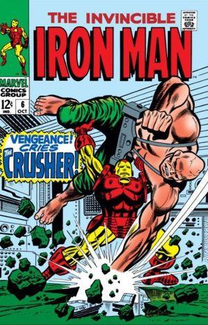IRON MAN (1968 1ST SERIES) #6