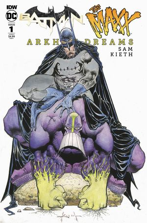 BATMAN THE MAXX (2018) #1B