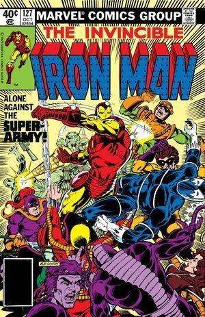 IRON MAN (1968 1ST SERIES) #127