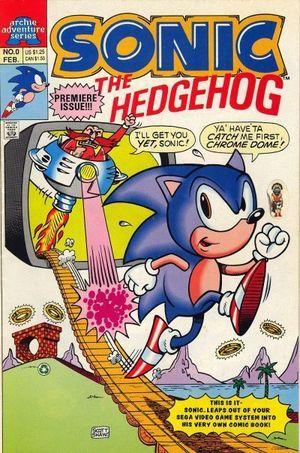 SONIC THE HEDGEHOG (1993) #0