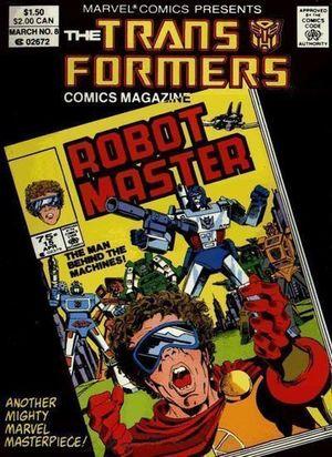 TRANSFORMERS COMIC MAGAZINE DIGEST (1987) #8