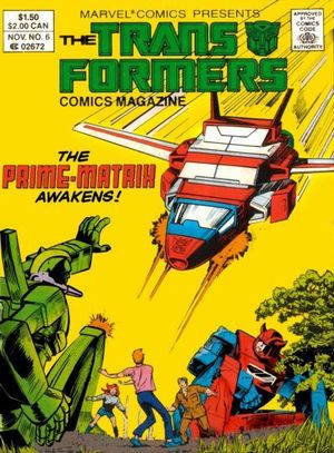 TRANSFORMERS COMIC MAGAZINE DIGEST (1987) #6