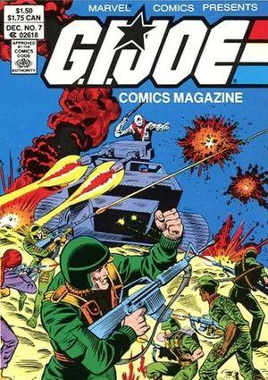 GI JOE COMICS MAGAZINE DIGEST (1986) #7
