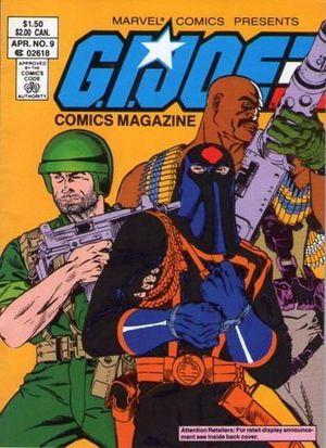 GI JOE COMICS MAGAZINE DIGEST (1986) #9