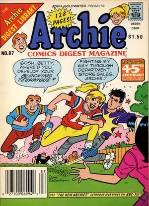 ARCHIE COMICS DIGEST (1973) #87