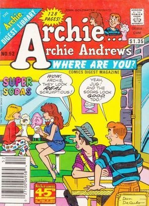 ARCHIE ANDREWS, WHERE ARE YOU? DIGEST (1981) #52