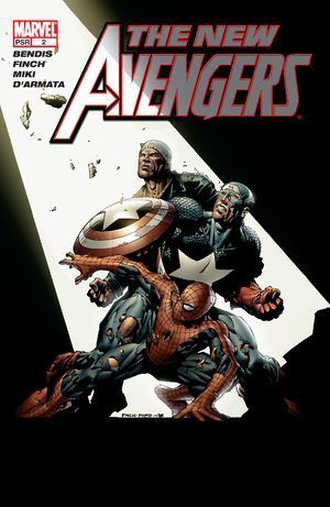 NEW AVENGERS (2005 1ST SERIES) #2