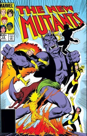 NEW MUTANTS (1983 1ST SERIES) #14