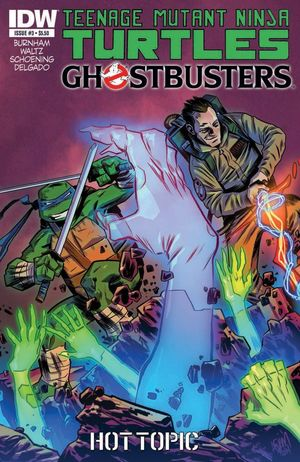 TEENAGE MUTANT NINJA TURTLES GHOSTBUSTERS (2014)