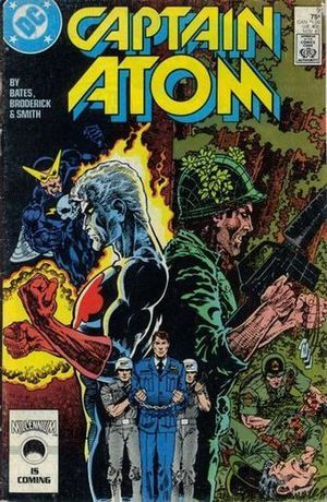 CAPTAIN ATOM (1987 DC) #9