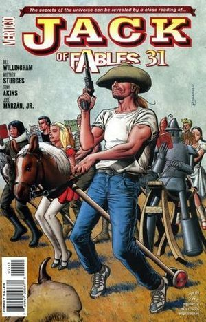 JACK OF FABLES (2006) #31