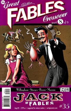 JACK OF FABLES (2006) #35