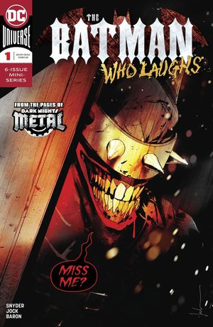 BATMAN WHO LAUGHS (2018) #1
