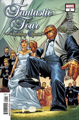FANTASTIC FOUR WEDDING SPECIAL (2018) #1