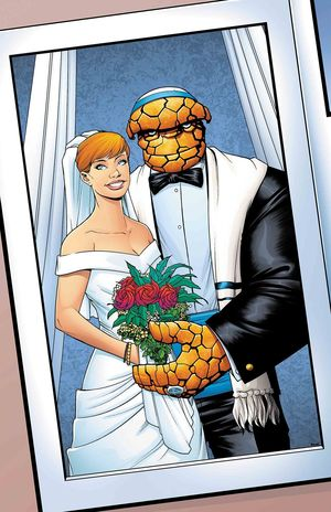 FANTASTIC FOUR WEDDING SPECIAL (2018) #1D
