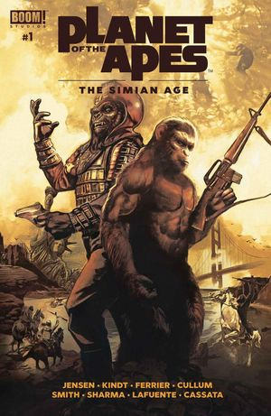 PLANET OF THE APES SIMIAN AGE (2018) #1