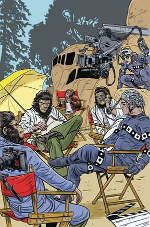 PLANET OF THE APES SIMIAN AGE (2018) #1B