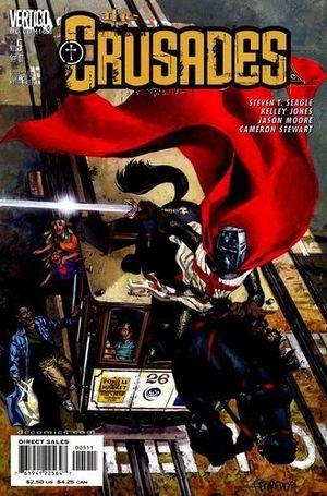 CRUSADES (2001 DC/VERTIGO) #5